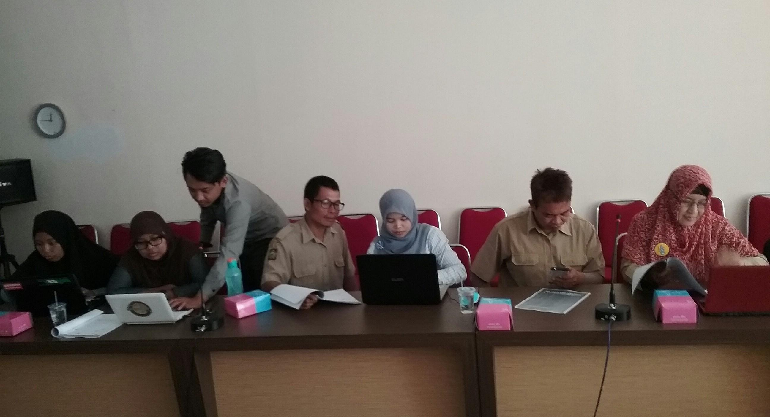 Pelatihan website untuk Desa Wisata se Kab Kulon Progo