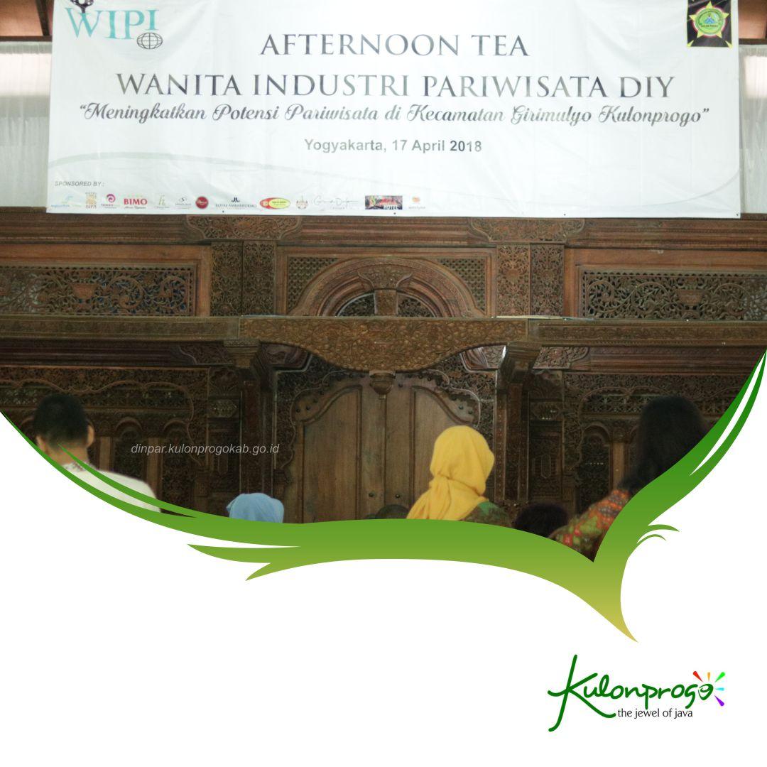 Afternoon Tea Wanita Industri Pariwisata DIY