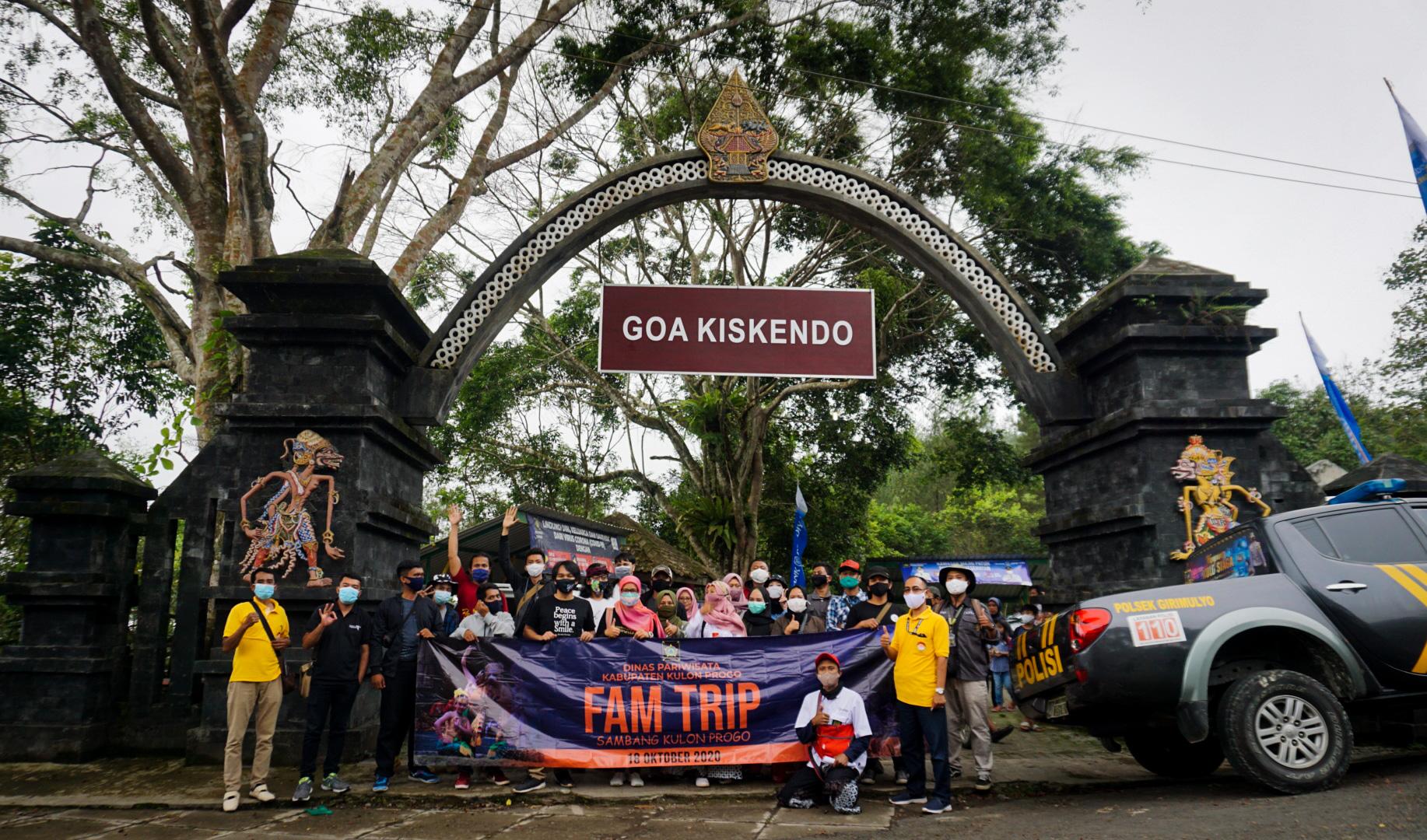 Dinpar Kulon Progo Selenggarakan Fam Trip 2020 Dengan Protokol Kesehatan