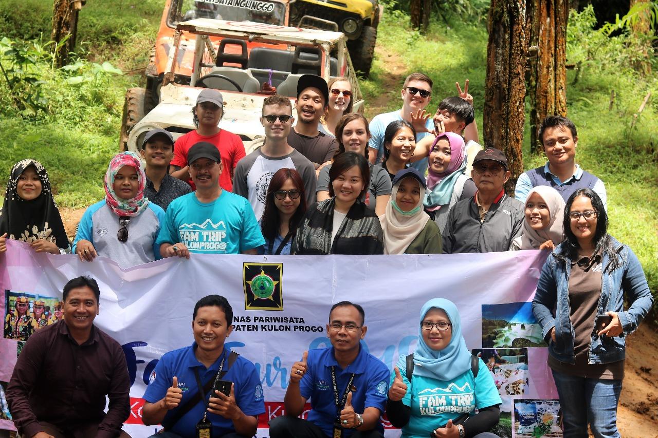 Fam Tour Dinas Pariwisata Kabupaten Kulon Progo 2018