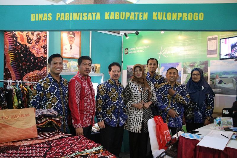 Tingkatkan Kunjungan Pariwisata, Dinas Pariwisata Kulon Progo Ikuti Pameran