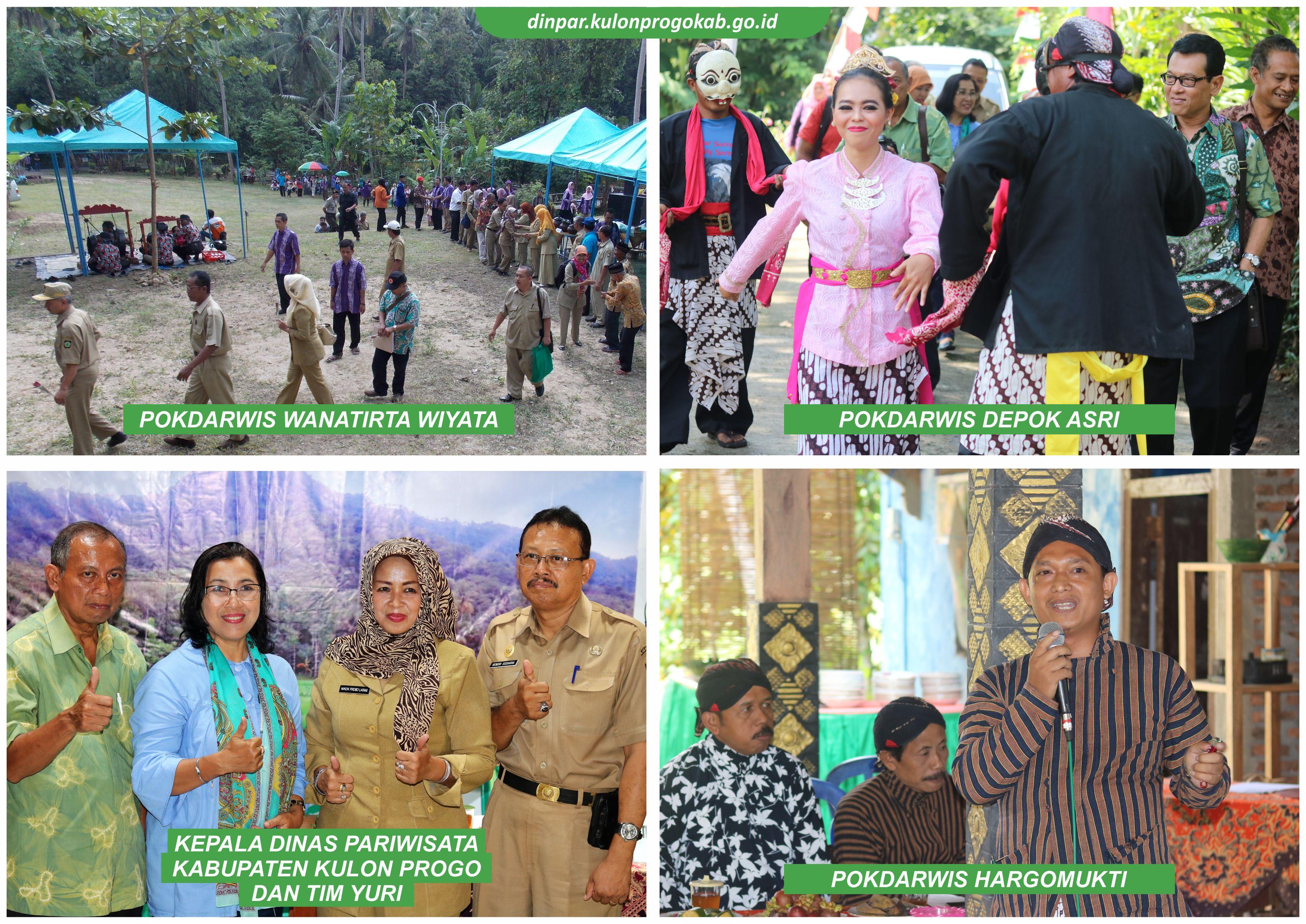EVALUASI DAN LOMBA POKDARWIS DIY 2018 Di Kab. Kulon Progo