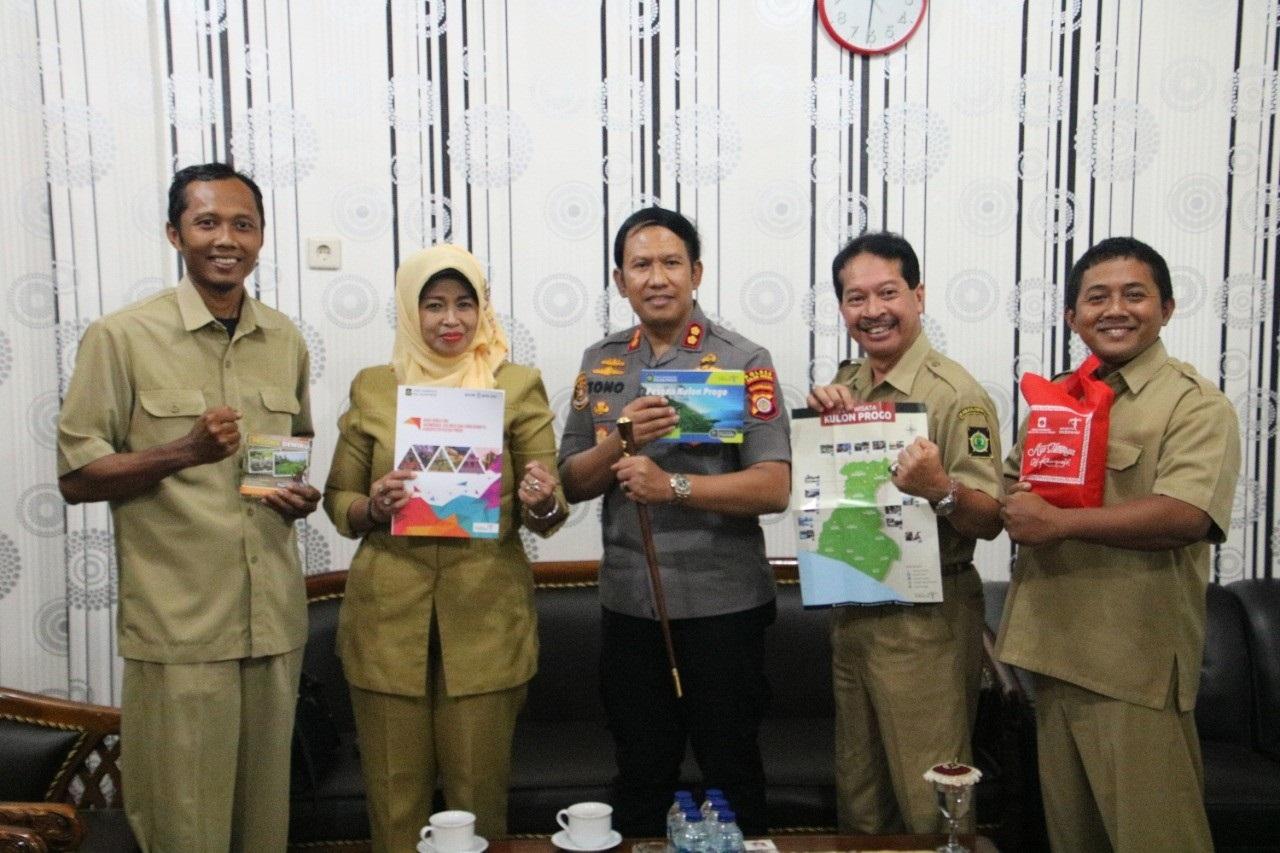 Dinas Pariwisata dan Polres Kulon Progo Bersinergi Tingkatkan Keamanan dan Kenyamanan Wisatawan